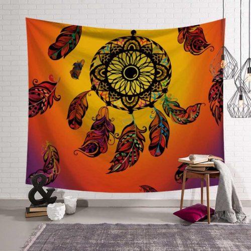 Wandkleed bohemian, boho wandkleed, bohemian wandtapijt, bohemian tapestry