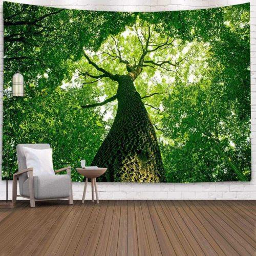 Wandkleed van een oude boom