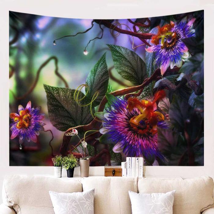 Closeup bloemen fantasie