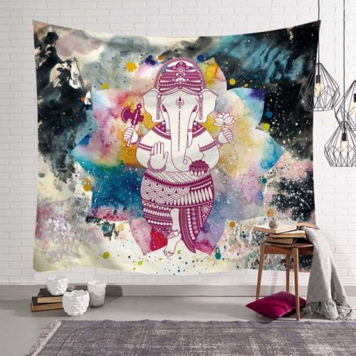 Ganesha hindoe god met oliefantenhoofd en 4 armen